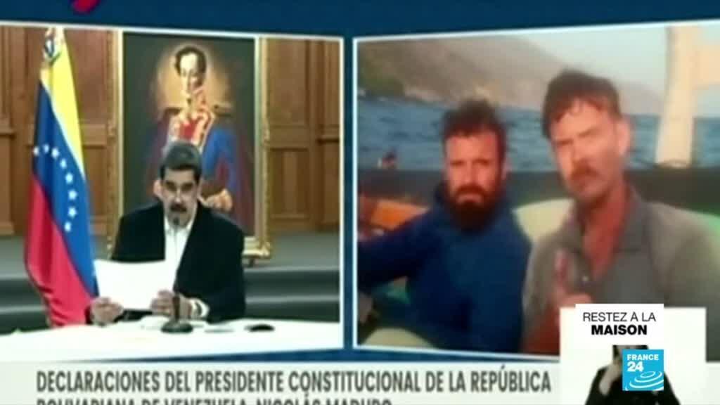 """2020-05-05 16:12 Venezuela : deux Américains arrêtés pour une tentative d'""""invasion"""", selon Maduro"""