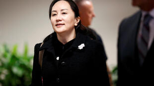 Huawei Chief Financial Officer Meng Wanzhou leaves B.C. Supreme Court for a lunch break during the first day of her extradition hearing in Vancouver, Canada January 20, 2020.