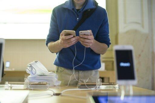 Les ventes d'iPhone on déçu les analystes.