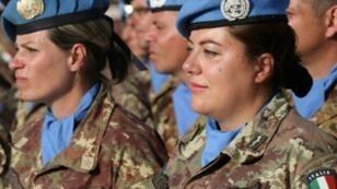 عناصر في قوة اليونيفيل المنتشرة في جنوب لبنان