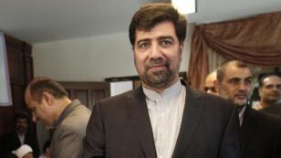 L'ancien ambassadeur Ghazanfar Roknabadi, photographié au Liban en 2013.