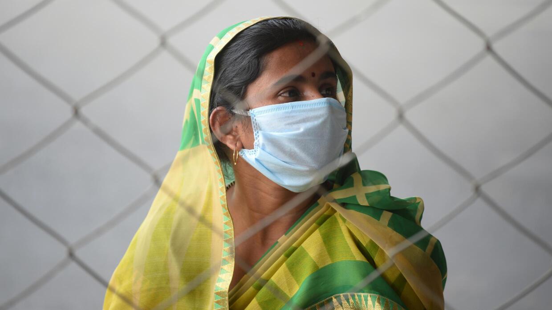 En Inde, le confinement affecte 1,3 milliard de personnes.