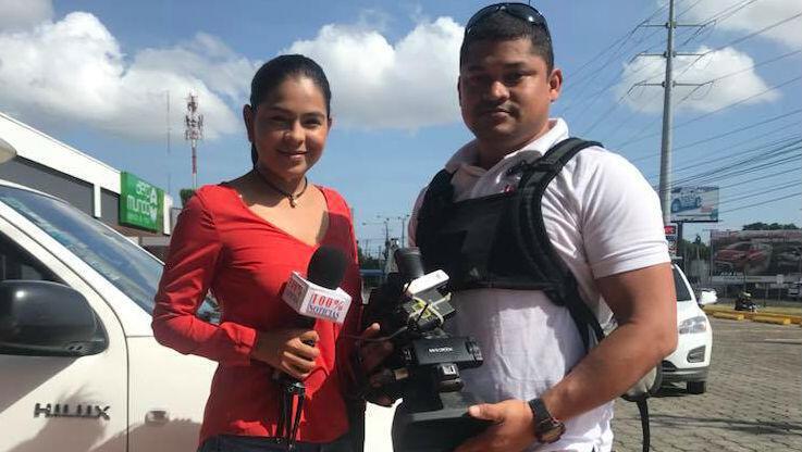 Leticia Gaitán denuncia que ha sido víctima de robos por parte de hombres armados.