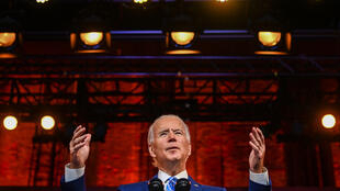 Joe Biden Thanksgiving speech discours Wilmington