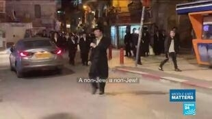 2020-04-22 11:19 Confinement in Israel: ultra-orthodox Jews struggle with lockdown measures