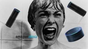 Ma réaction si Alexa me réveillait avec un rire diabolique.