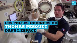 Thomas Pesquet aura passé 196 jours à bord de l'ISS.