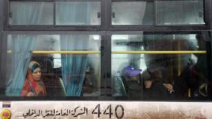 Plus de 30000personnes doivent être évacuées de quatre villes syriennes assiégées, en vertu d'un accord conclu en mars.