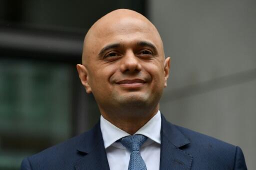 Le ministre de l'Intérieur britannique Sajid Javid à Londres, le 30 avril 2018