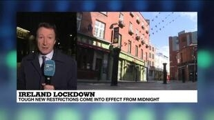 2020-10-21 10:05 Ireland lockdown: Tough new restrictions come into effect