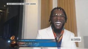 Le Nigérian Burna Boy récompensé aux Grammy awards