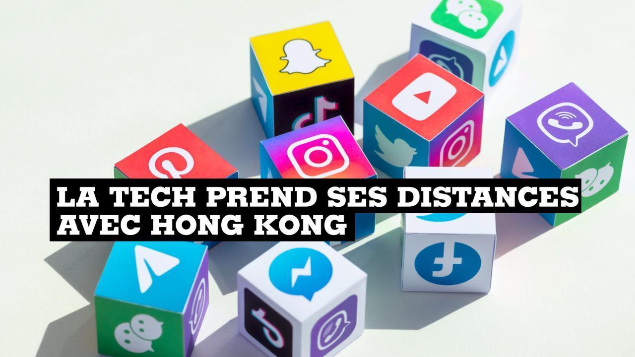 Hong Kong géants de la tech