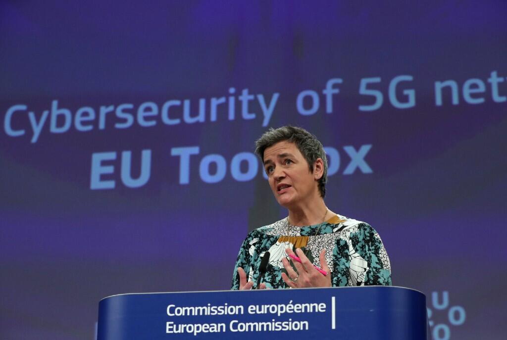 Margrethe Vestager, comisaria europea de Competencia.