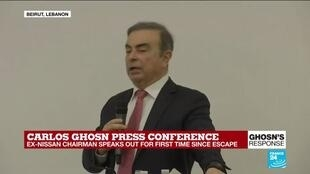 """2020-01-08 15:31 """"I don't personally think the top level was involved"""": Carlos Ghosn talks on the 'conspiracy' against him"""