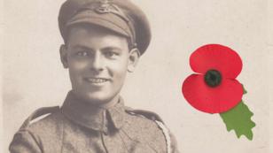 Albert Charles Todd, fusilier britannique mort au premier jour de la bataille de la Somme, le 1er juillet 1916.
