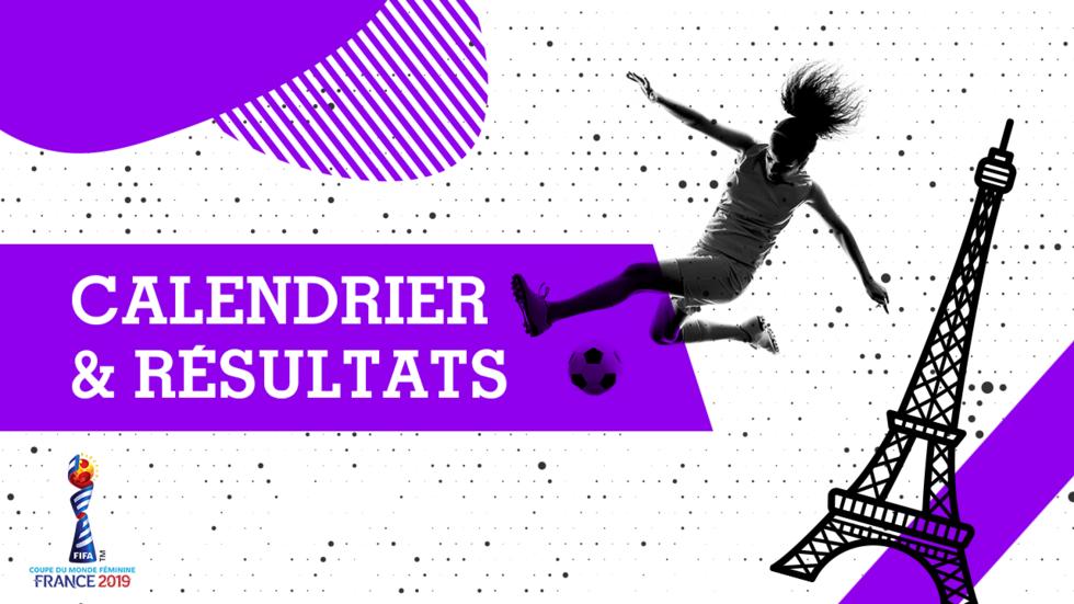 Calendrier Fifa Coupe Du Monde 2020.Mondial Feminin 2019 Le Calendrier Et Les Resultats