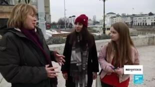 Reporteros Macedonia del Norte