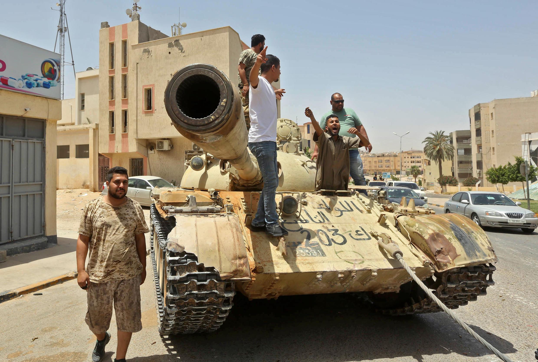 GNA Libye