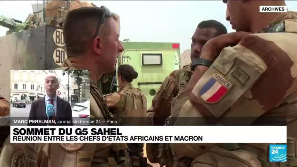 2021-07-09 11:04 Sommet du G5 Sahel : la France prépare son désengagement militaire au Sahel