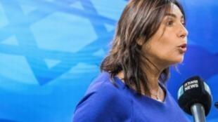 وزيرة الثقافة والرياضة الإسرائيلية ميري ريغيف في 12 آب/أغسطس 2018 في القدس