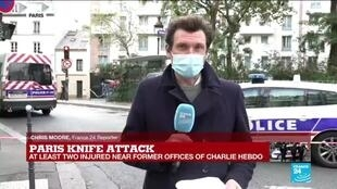 2020-09-25 16:32 Paris knife attack, a painful reminder of the Charlie Hebdo massacre