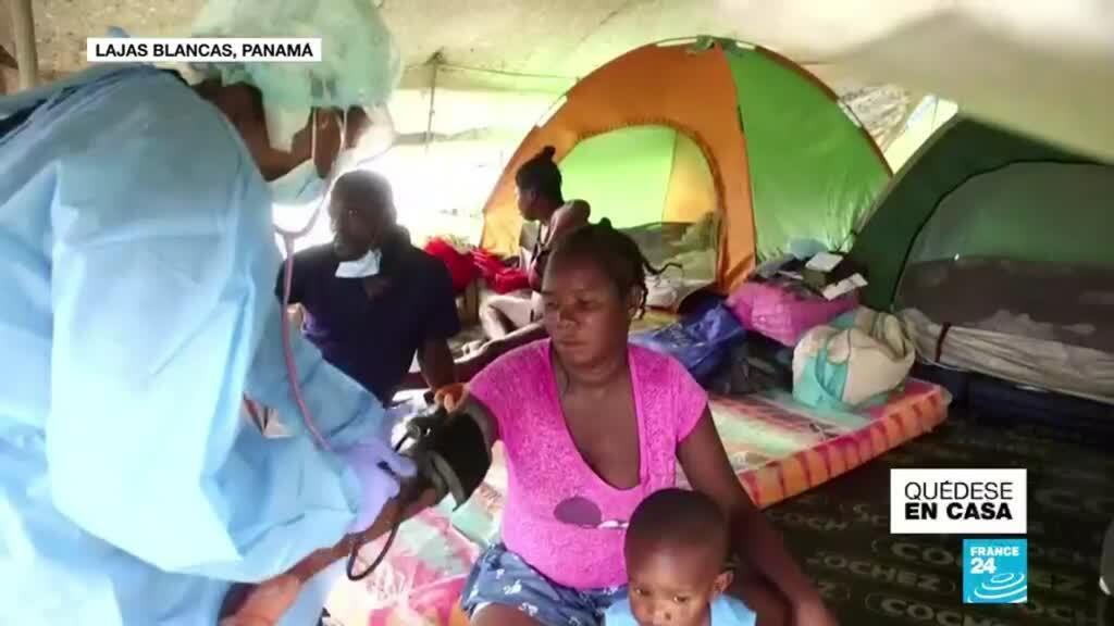 Migrantes en Panamá