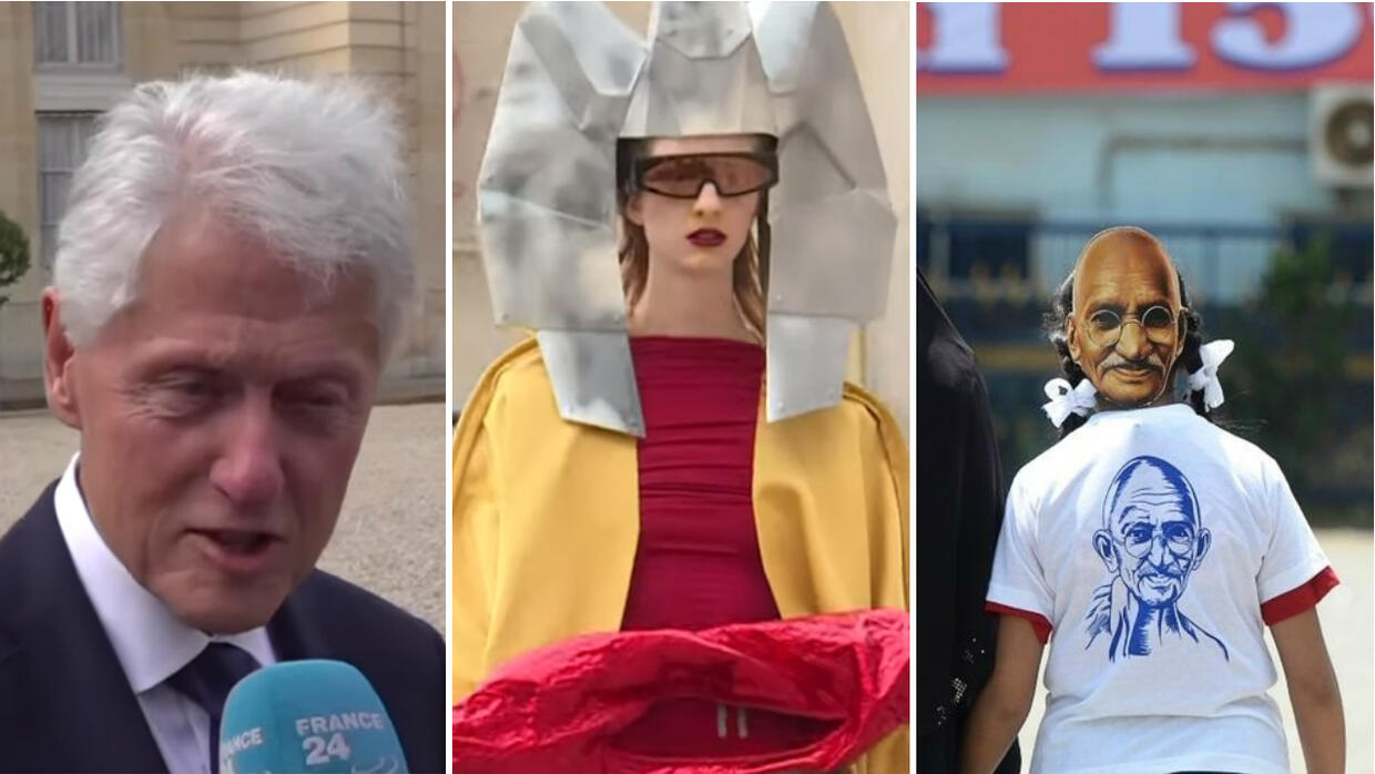 Week in Review: Clinton lauds Chirac, Paris Fashion Week goes green and a French twist on tacos