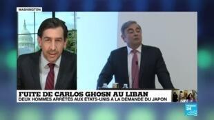 2020-05-20 17:00 Fuite de Carlos Ghosn : deux complices présumés arrêtés aux Etats-Unis
