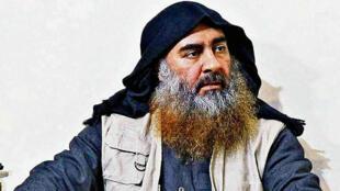 El fallecido líder del Estado Islámico, Abu Bakr al Baghdadi, en una fotografía publicada por el Departamento de Defensa de Estados Unidos en Washington D. C., el 30 de octubre de 2019.