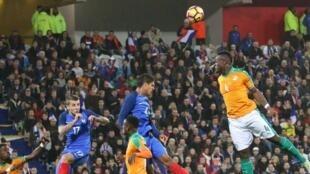 La France et la Côte d'Ivoire n'ont pas réussi à se départager (0-0).