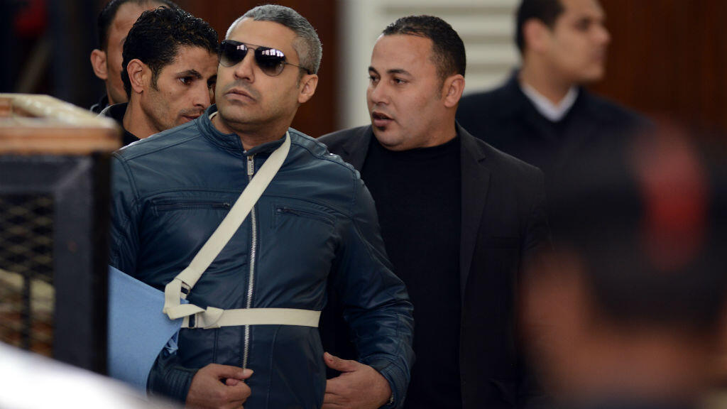 Le tribunal égyptien a ordonné la libération du journaliste canadien Mohamed Fahmy, correspondant d'Al-Jazira en Égypte, le 12 février 2015.