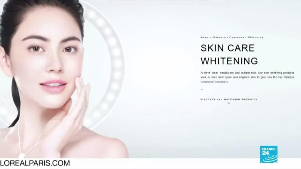 """2020-06-28 19:05 Controverse après le retrait des mots """"blanc"""" et """"clair"""" dans l'univers L'Oréal"""