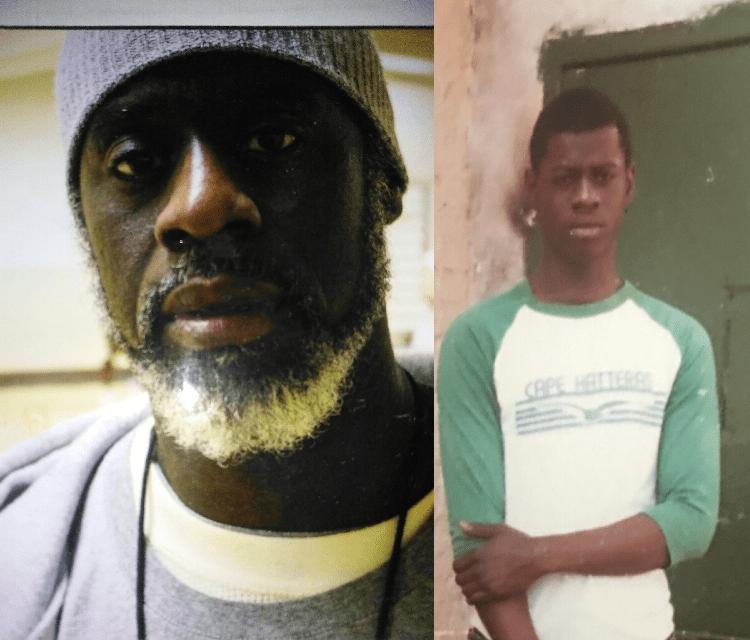 Ransom Watkins aujourd'hui (gauche) et à l'époque où il a été incarcéré à l'âge de 16 ans. Après 36 ans en prison, il a été innocenté.