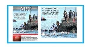 Arrivée de milliers de migrants dans l'enclave espagnole de Ceuta