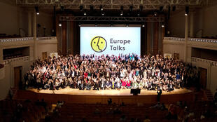 Participants in a previous edition of Europe Talks