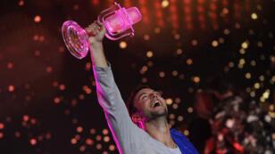 """Mans Zelmerlow, le candidat suédois, a décroché la victoire avec la chanson """"Heroes""""."""