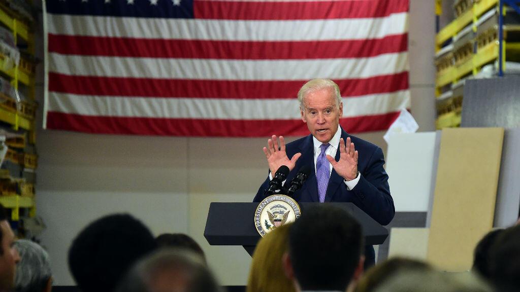 Le vice-président américain, Joe Biden,  à Los Angeles, le 22 juillet 2015.