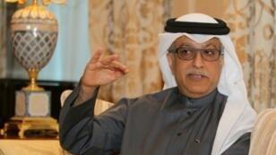 الشيخ سلمان بن ابراهيم آل خليفة في الدوحة. 31 كانون الثاني/يناير 2016