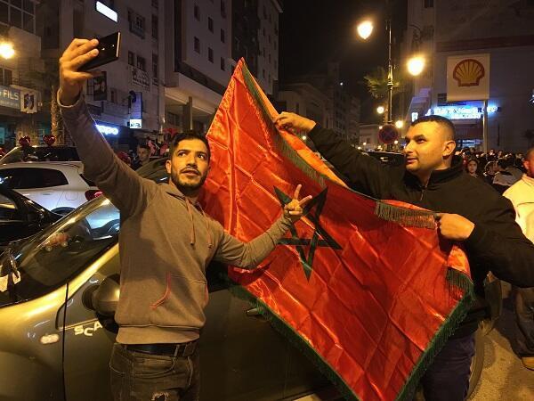 لحظات لا تنسى بالنسبة للجمهور المغربي
