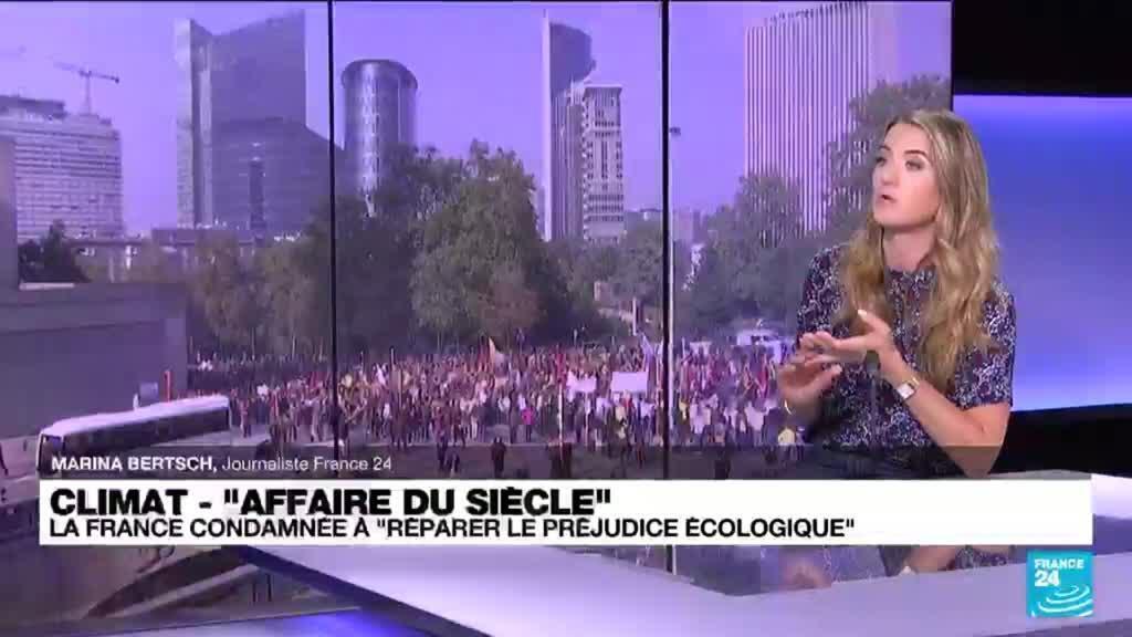 """2021-10-14 15:10 Climat - """"Affaire du siècle"""" : la France condamnée à """"réparer le préjudice écologique"""""""