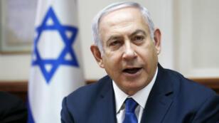 رئيس الحكومة الإسرائيلية بنيامين نتانياهو.