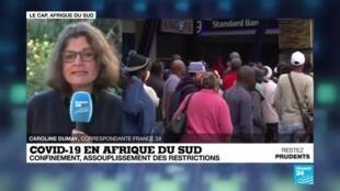 2020-06-01 08:08 Afrique du Sud : reprise progressive des activités économiques, réouverture des écoles
