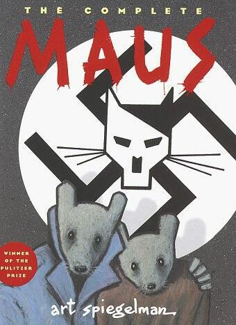 """La couverture de la bande dessinée """"Maus"""""""