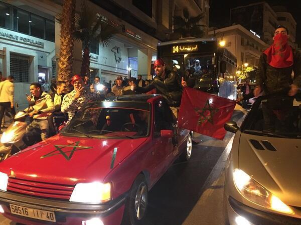 البهجة والسرور في شارع محمد الخامس بطنجة