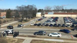 Universidad Central de Michigan, lugar donde ocurrió un tiroteo el viernes 2 de marzo.