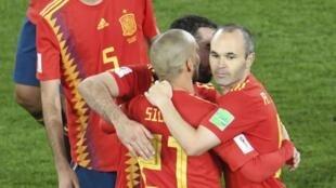 إسبانيا تأهلت في صدارة المجموعة الثانية رغم تعادلها أمام المغرب 2018/06/25