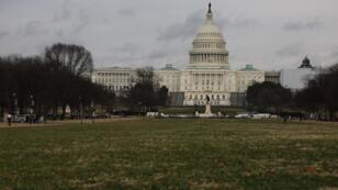 Le Mall, devant le Capitole, complètement vide samedi 5janvier2019.