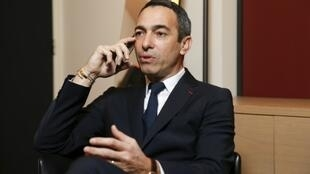 L'ancien international français Youri Djorkaeff, le 25 janvier 2018 à Paris