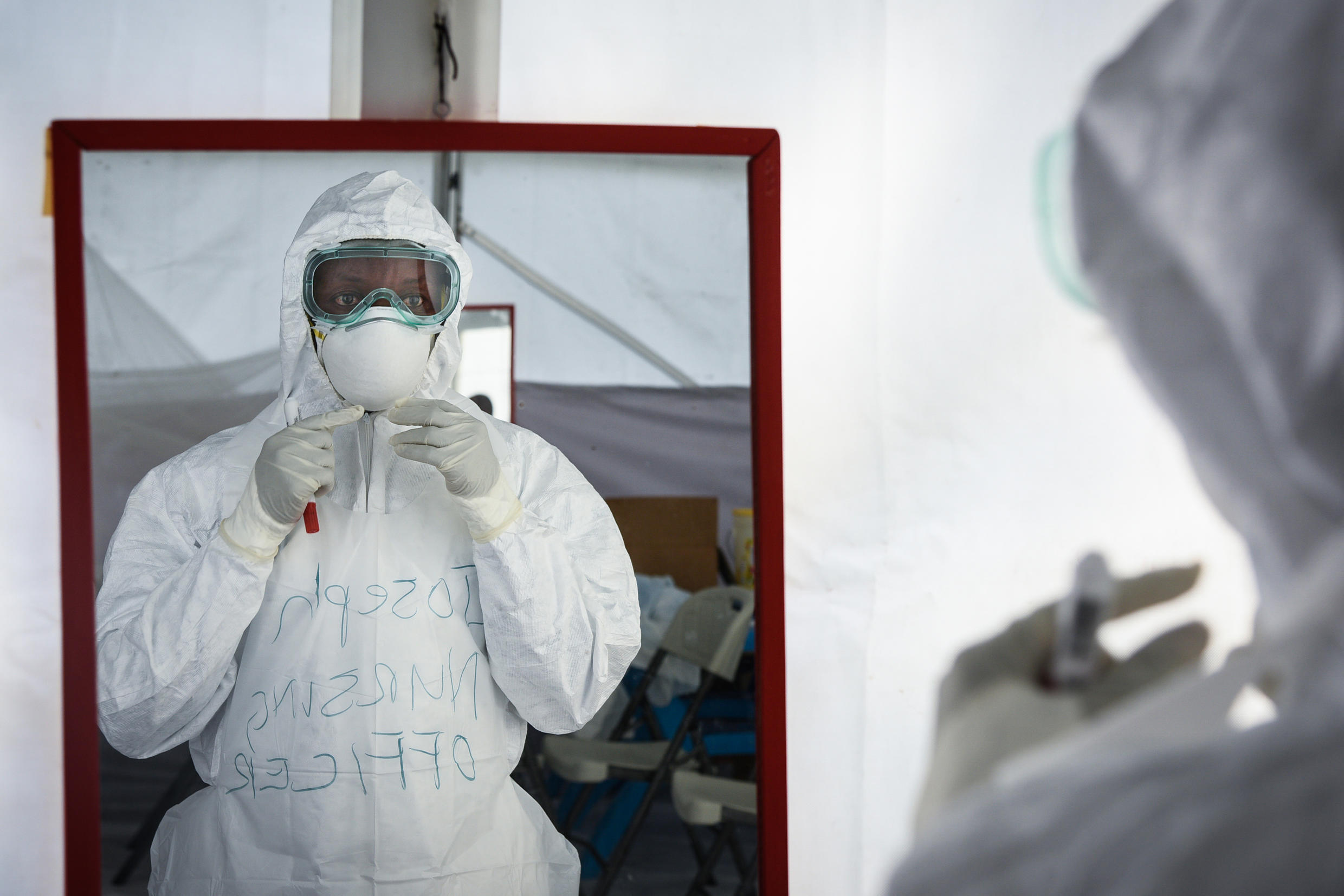 Ebola workers in eastern DR Congo bore the brunt of militia attacks that hampered efforts to roll back the disease.