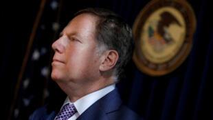 Le procureur fédéral de Manhattan Geoffrey Berman avait été nommé par l'administration de Donald Trump.